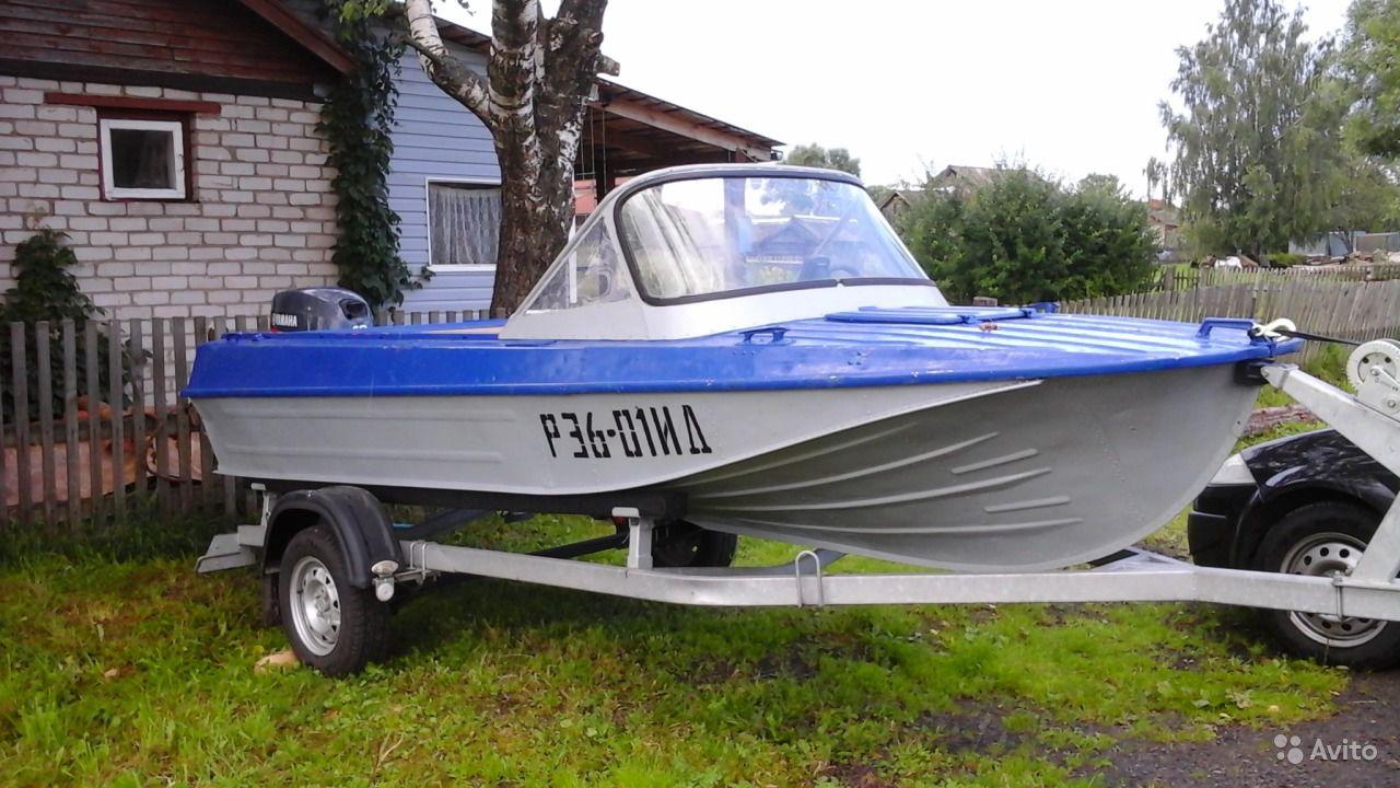 тюнинг лодки Казанка-5М2