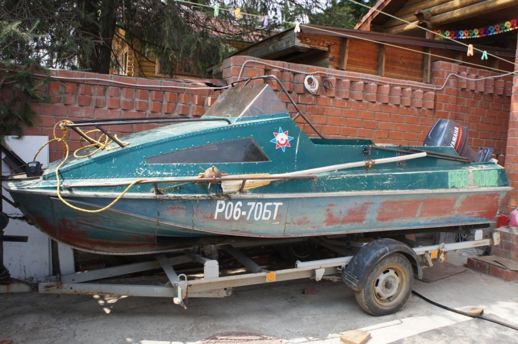 Казанка-5М с каютой