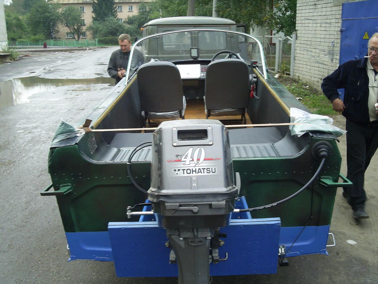 мотолодка Казанка-2М