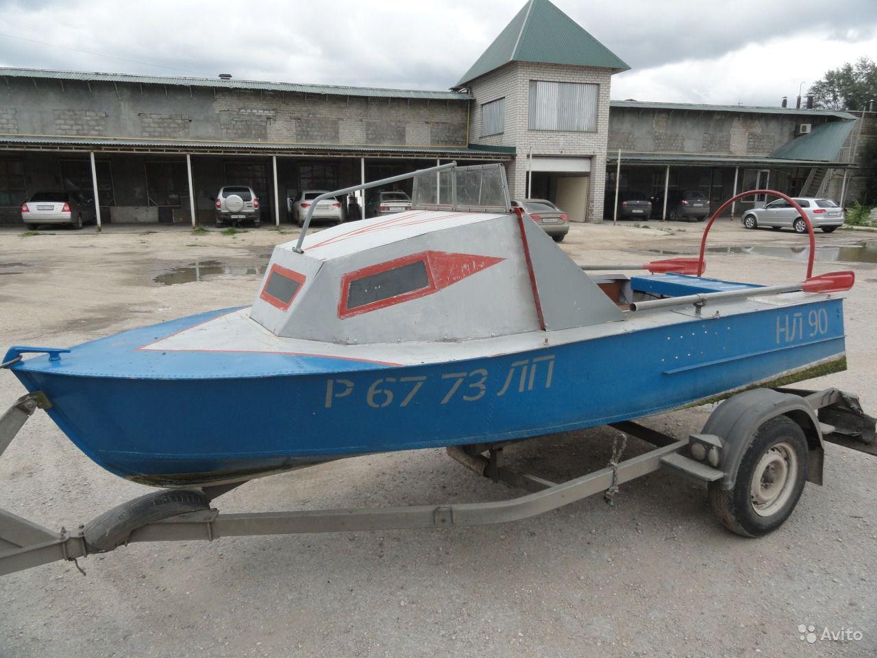 лодка МКМ с кабиной