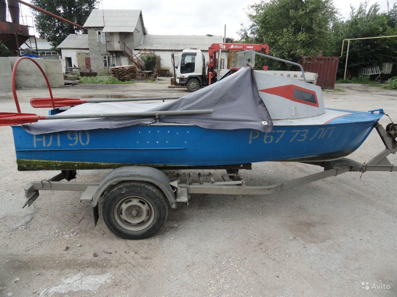 лодка МКМ с каютой