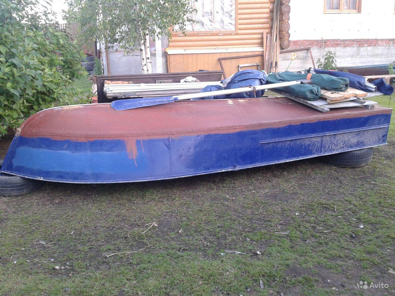 перевернутая лодка МКМ