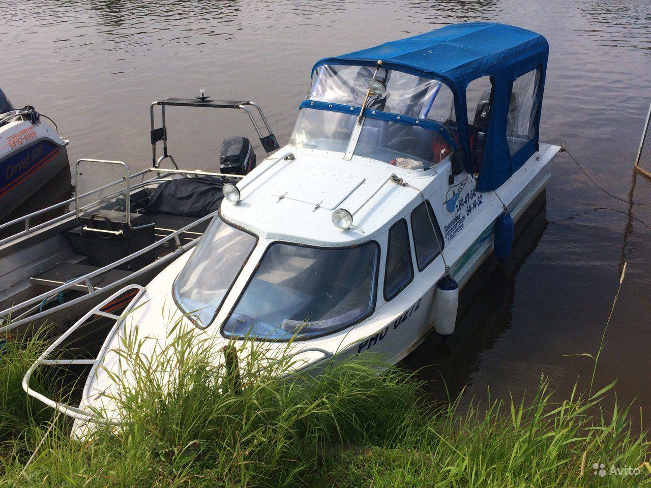 лодка Обь-4