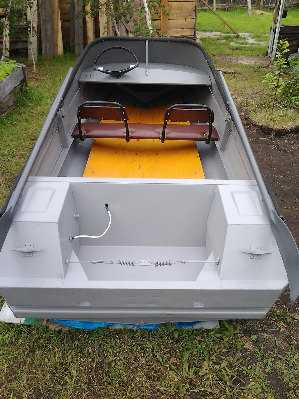 транец лодки Неман-2