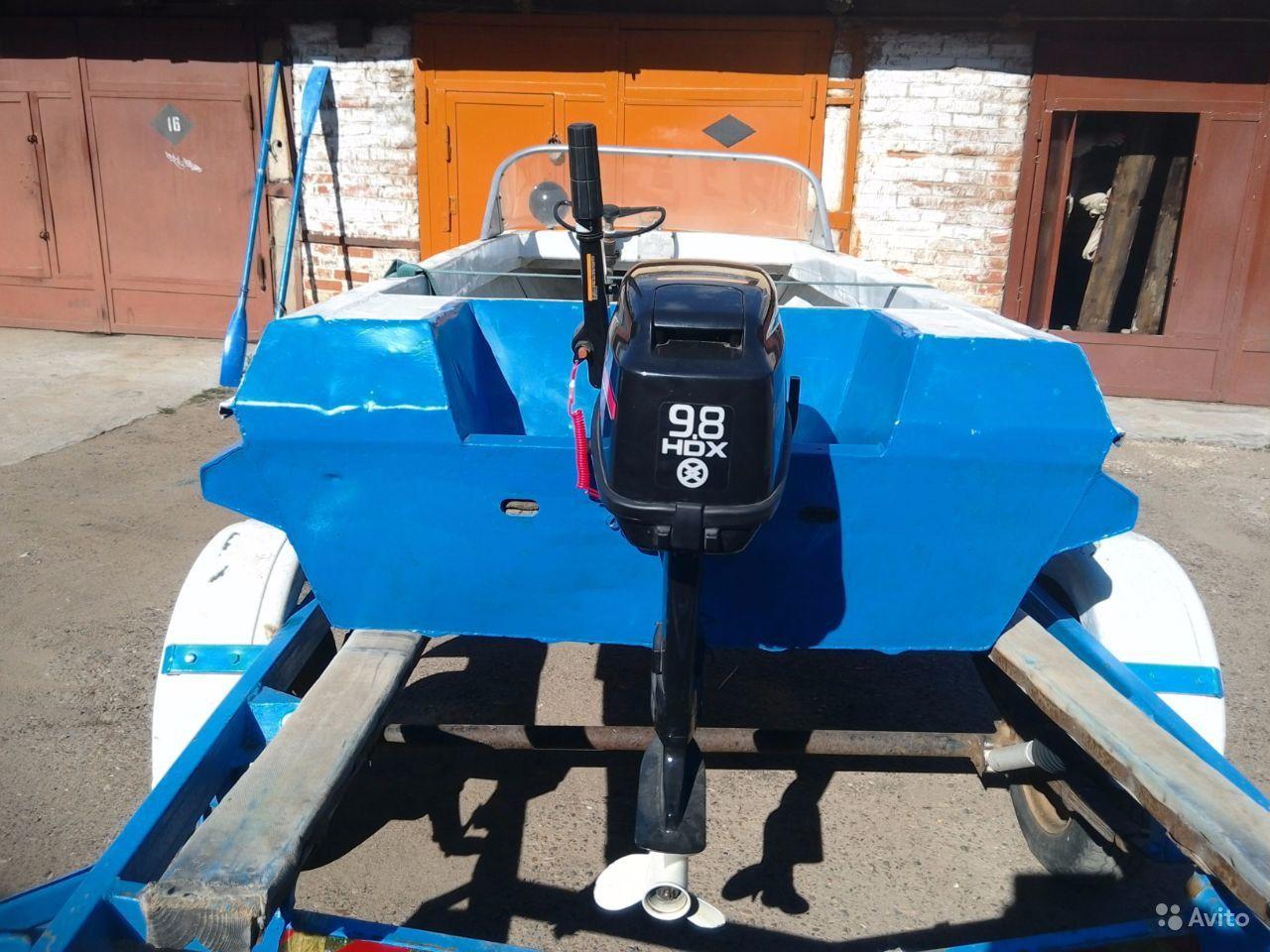 лодка Неман-1. транец
