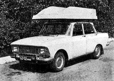 Лодка Онега на крыше автомобиля
