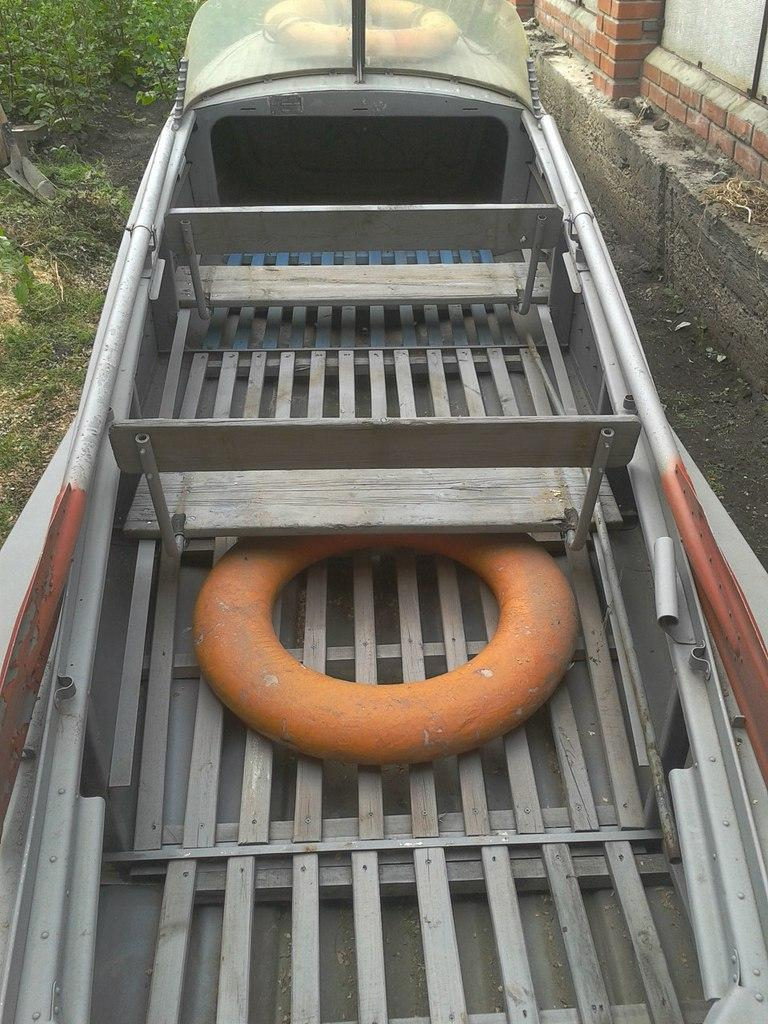 Казанка-М с родними сланями и седеньями