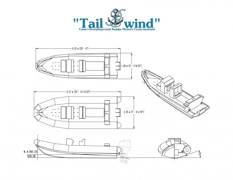 Tailwind RIB 637