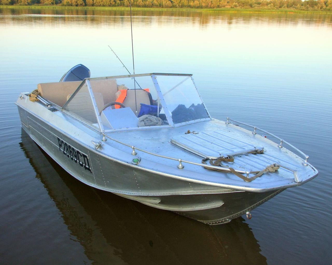 тюнинг лодки Ока-4